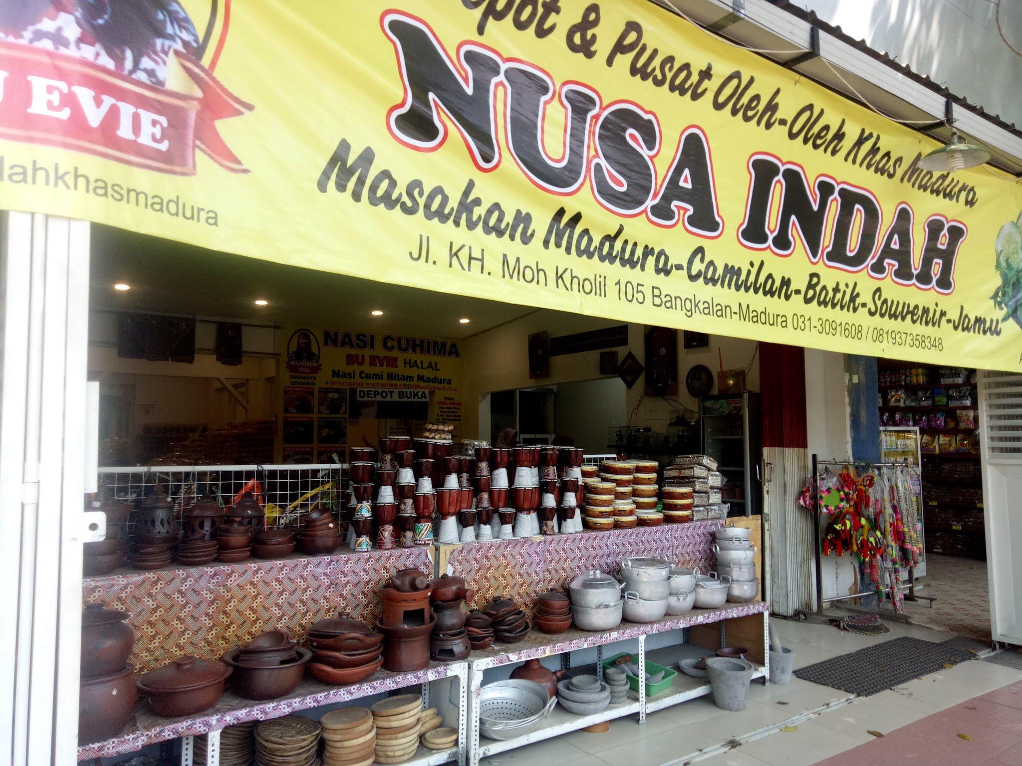 Pusat Belanja Oleh-oleh Khas Madura di Toko Nusa Indah Bangkalan