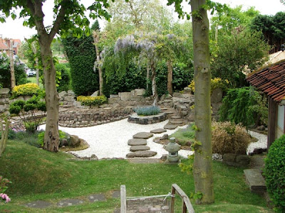 los principos del estilo japones de jardines que incluye un jard n japon s el estilo zen en. Black Bedroom Furniture Sets. Home Design Ideas