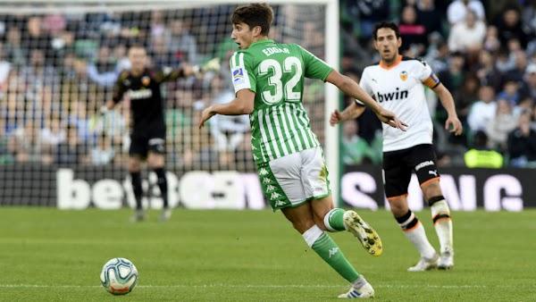 Betis, el Zaragoza quiere cedido a Edgar