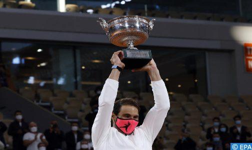 بطولة فرنسا لكرة المضرب : نادال يحقق لقبه الـ13 بفوزه على ديوكوفيتش