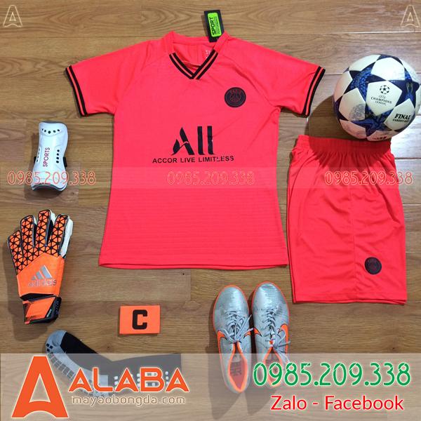 Áo CLB PSG 2020 Sân Khách Màu Đỏ