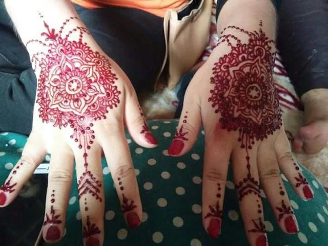 Henna Tangan Simple Miza Talib