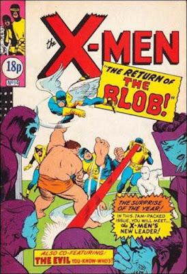 X-Men pocket book #14, the Blob