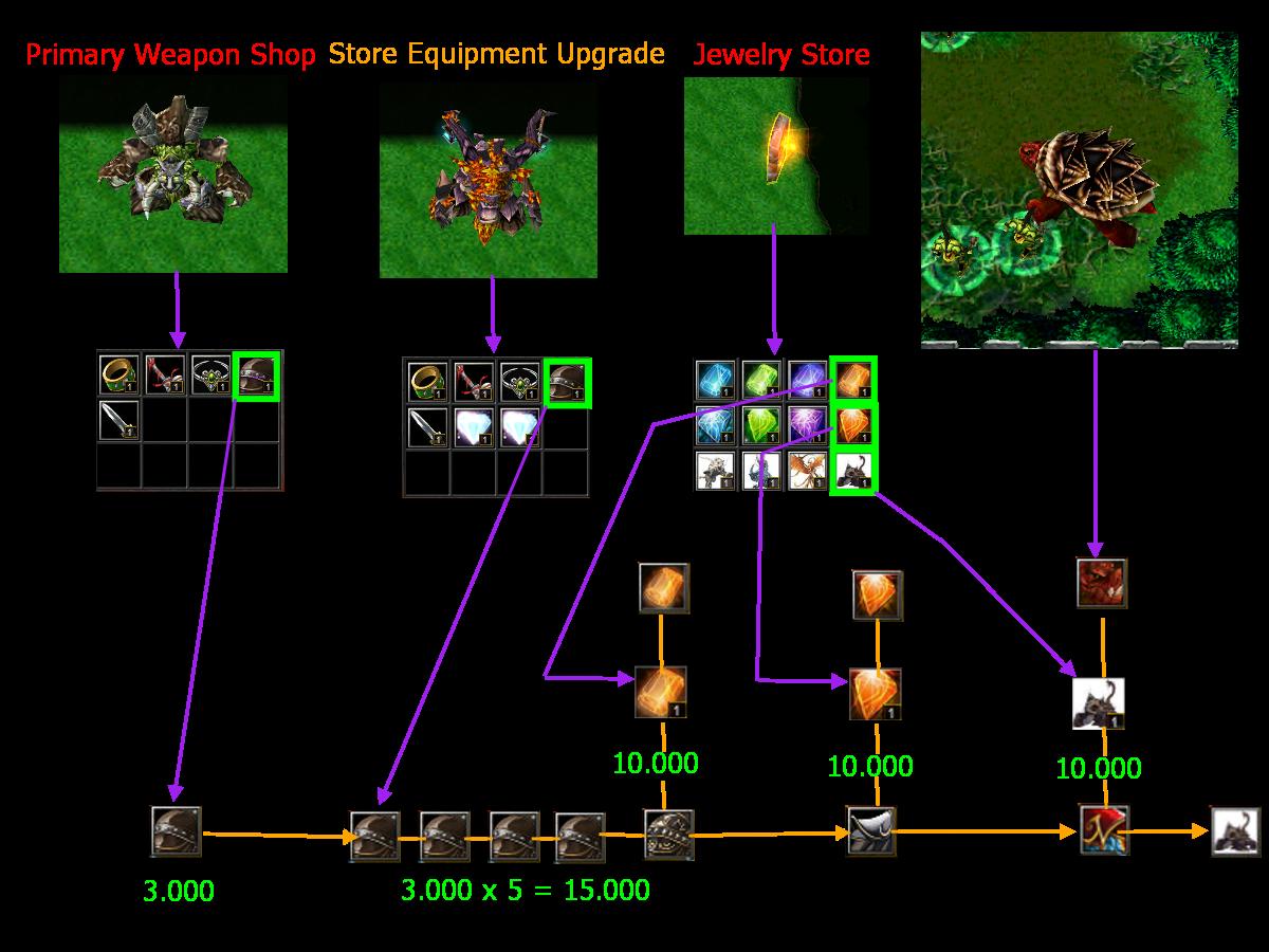 naruto castle defense map obsidian tortoise war armour