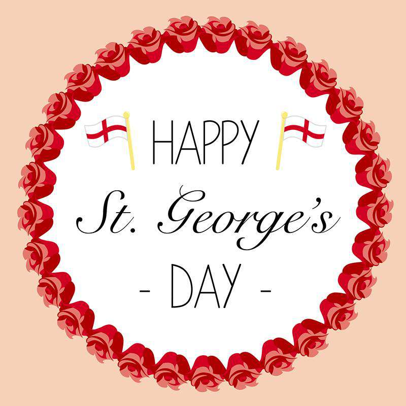 St. George's Day Wishes Sweet Images