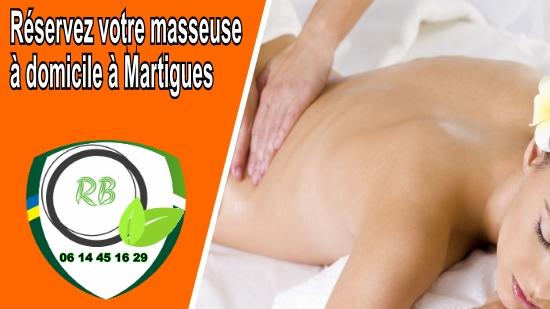 Réservez votre masseuse à domicile à Martigues;