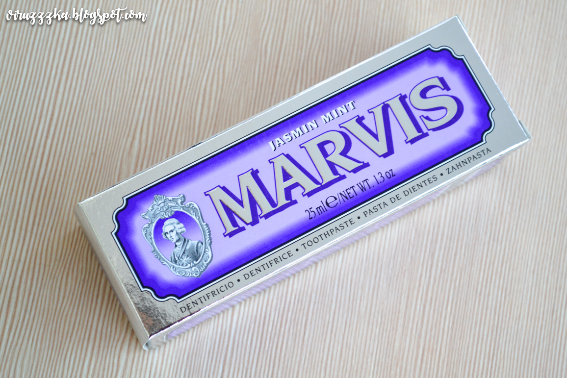 Marvis Jasmin Mint Toothpaste Review
