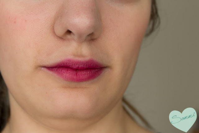 Birchbox: The Lip Sync Kit Review - OCC Obsessive Compulsive Cosmetics Lip Tar in Strumpet Swatches