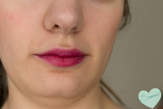 Birchbox: The Lip Sync Kit Review - OCC Obsessive Compulsive Cosmetics Lip Tar in Strumpet Swatches