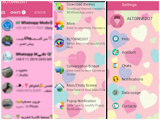 PicsArt_09-26-07.42.08 NEWhatsApp v5.95 Pink Edition Latest Version By Altornedo7 Apps