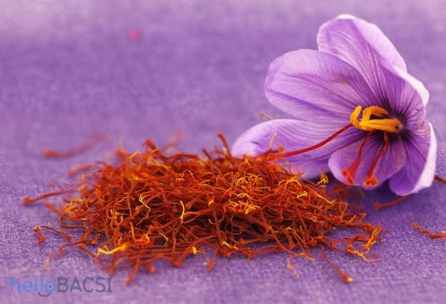 Nhụy hoa nghệ tây (saffron): Thảo dược cho sức khỏe và sắc đẹp