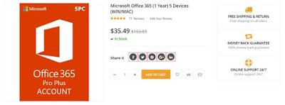 احصل علي ويندوز 10 اصلي و مايكروسوفت اوفيس 2016 بسعر زهيد 39 دولار
