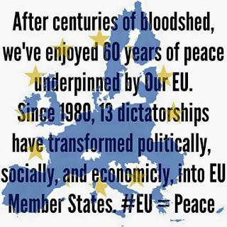 EU = peace. #EU60 #Brexit #ScotRef #IndependenceInEurope