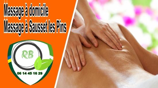Massage à domicile - Massage à Sausset les Pins;