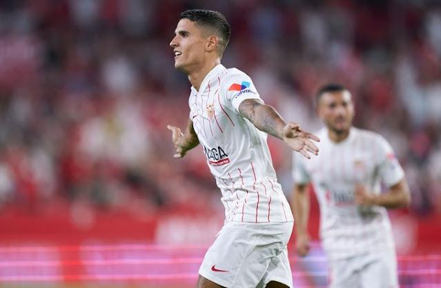 Crónica Sevilla FC 3 - Rayo Vallecano 0
