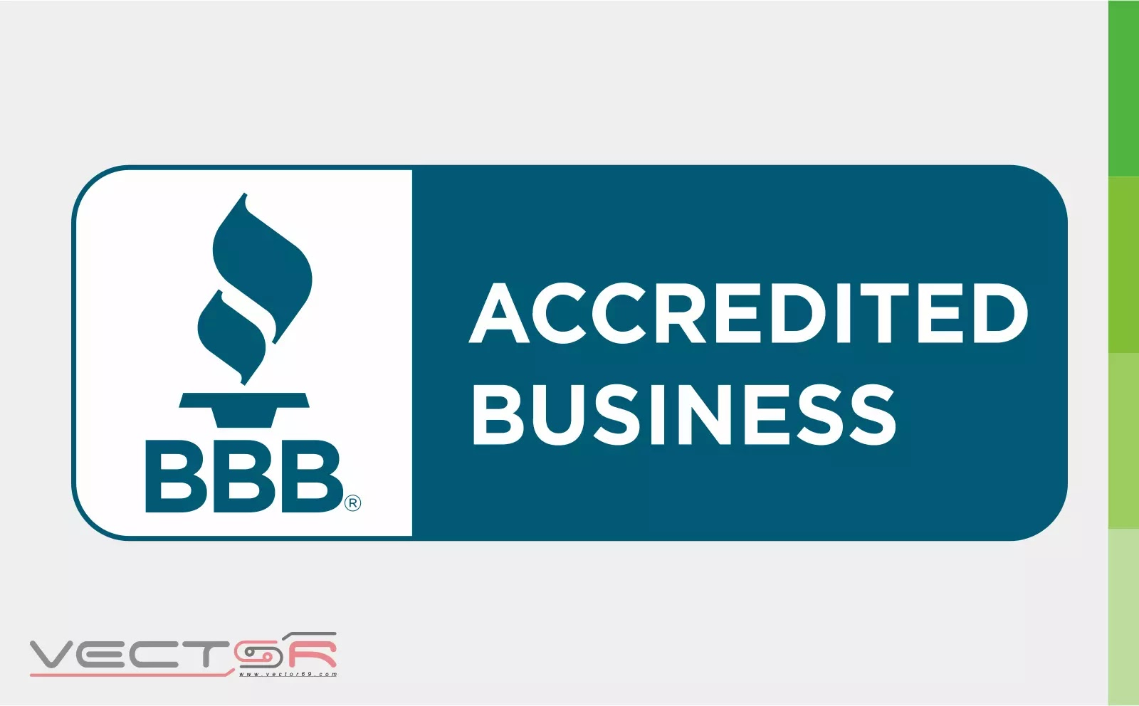 BBB Accredited Business Horizontal Seal - Download Vector File CDR (CorelDraw)