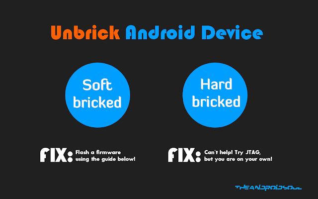 Cara mengatasi HardBrick di Android