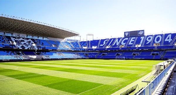 El Málaga - Granada de Copa, sin público