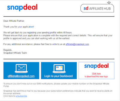 Step To Join Snapdeal Affiliate Program