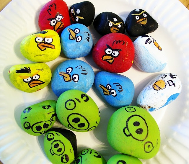 Easy Rock Painting For Kids