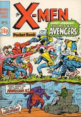 X-Men pocket book #15