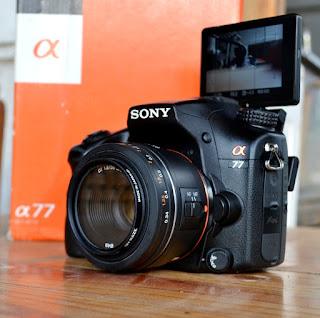 Sony Alpha SLT A77V bekas