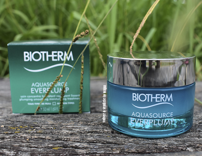 Crema hidratante Aquasource Eveplump de Biotherm