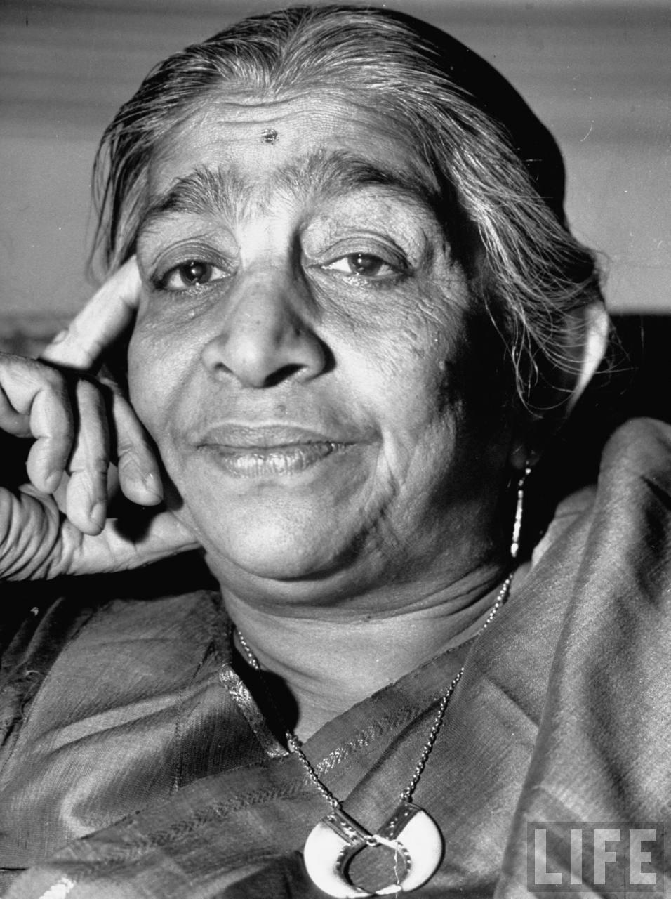 Portrait of Sarojini Naidu - Delhi 1946