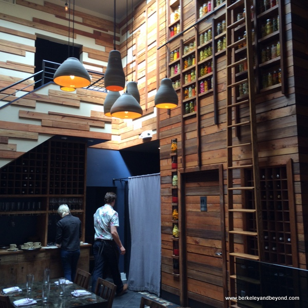 interior of Reverb Kitchen & Bar in San Francisco