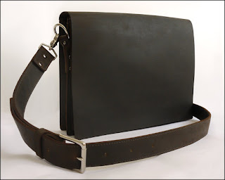 Mens Leather Messenger Bag Laptop