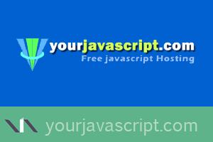 Yourjavascript, alojamiento gratis de archivos javascript
