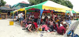 Libur Panjang,  22 Ribu Lebih Wisatawan Kunjungi Objek Wisata di Samosir