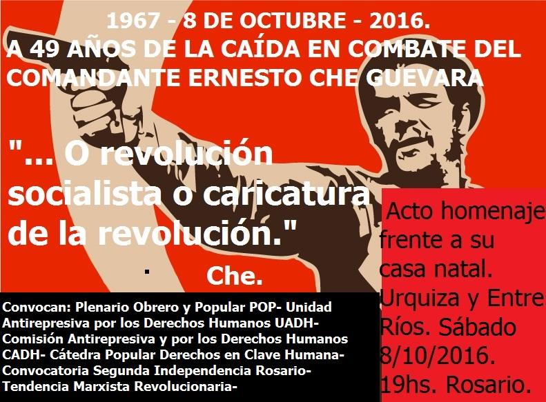 Dia Guerrillero Heroico  1967 -  2016