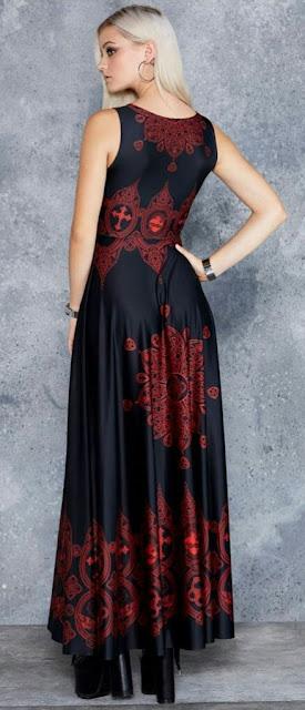 Sleeve-less-printed-long-slik-dress