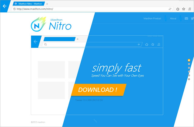 Maxthon MxNitro Web Browser