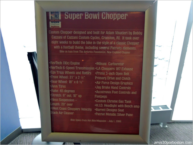 Super Bowl Chopper de Adam Vinatieri