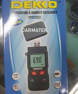 Darmatek Jual DEKKO FD-7176 Temperature/Humidity Datalogger USB ukuran Mini