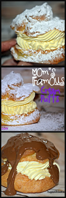 MY MOM'S FAMOUS CREAM PUFFS!