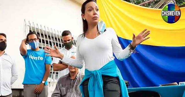 Maria Corina dice que cualquier comparsa electoral solo beneficiará la image de Maduro