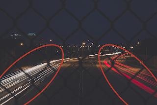 Gambar dengan motion blur