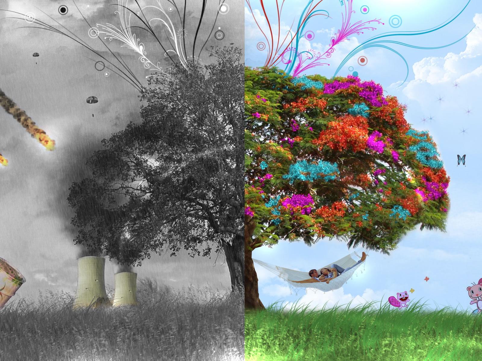 3d wallpaper trees - photo #4