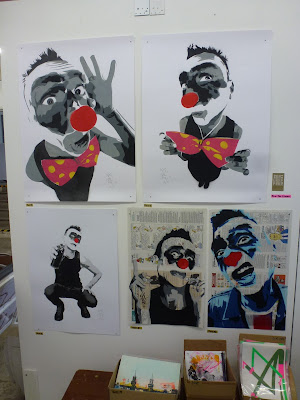 Stencils - MIMI the ClowN auf der Stroke