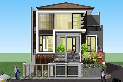 14 Contoh Terbaru Rumah Minimalis 3 Lantai Yang Nampak Mewah dan Modern