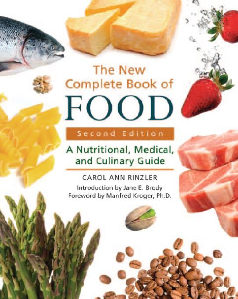 The New Complete Book of Food. Second Edition