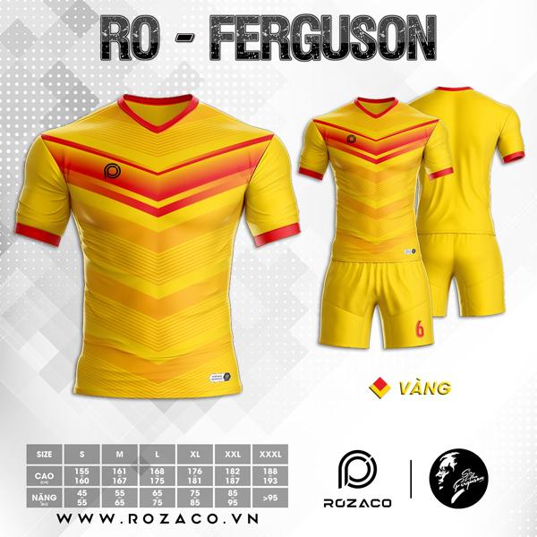 Áo Không Logo Rozaco RO-FERGUSON Màu Vàng