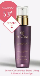 Serum Concentrado Efecto Lifting Ultimate Lift de Novage de Oriflame