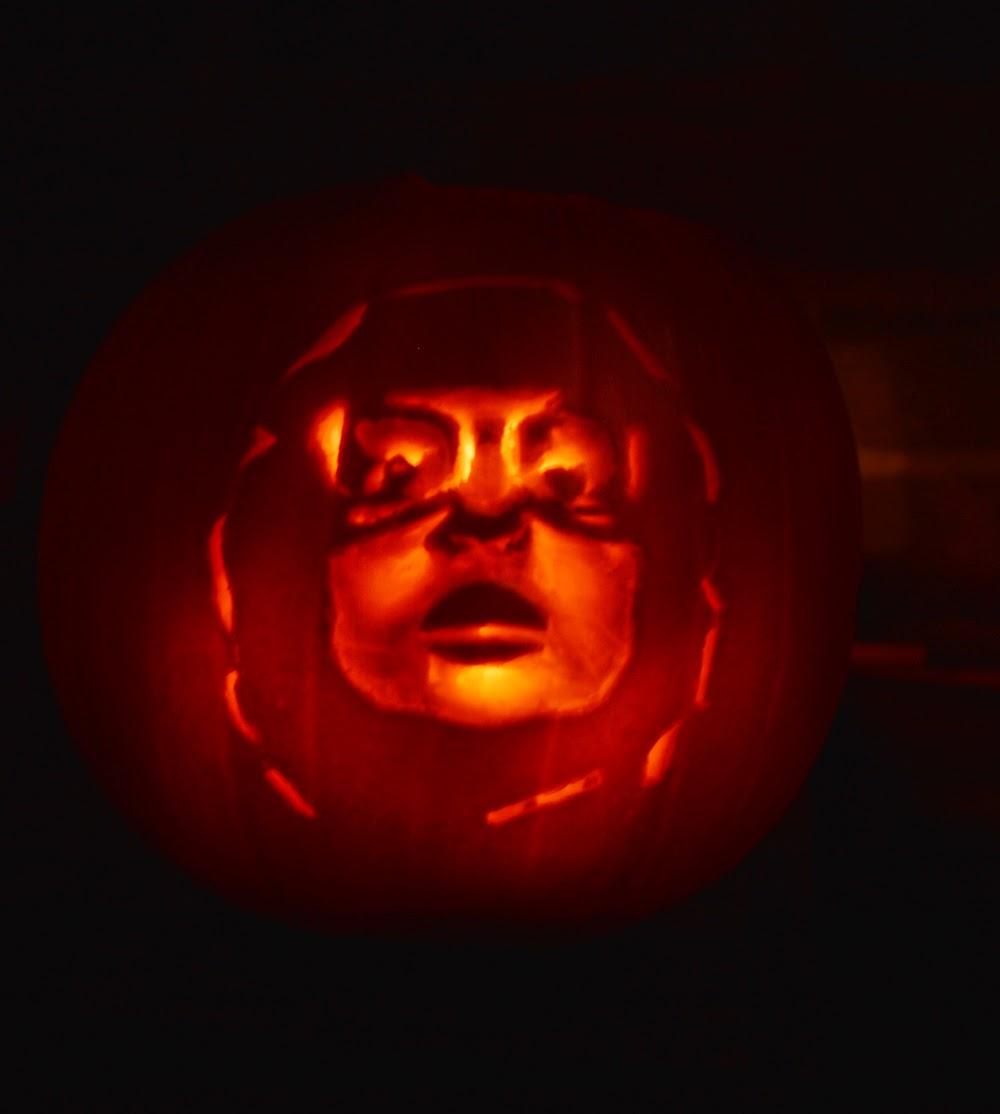 Richie Tozier Pumpkin Lantern