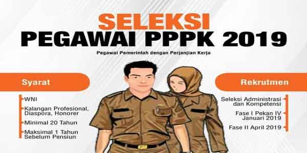 tahapan seleksi penerimaan pppk 2019