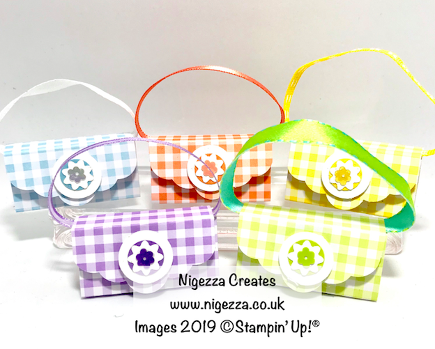 Nigezza Creates with Stampin' Up! Gingham Gala