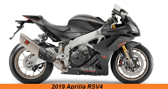 2019 Upcoming bike Aprilia RSV4